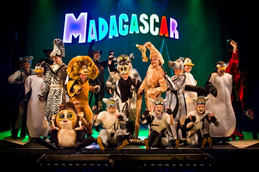 musical Madagaskar