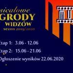 Musicalowe Nagrody Widzów zasezon 2019/2020 – etap 1